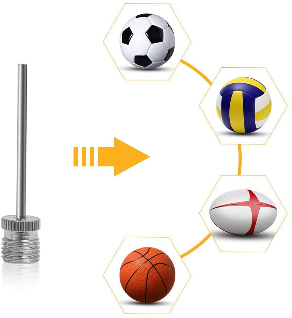 Pump Valve Adapter Sports Ball Football Inflate Needle Airbed Toys Nozzle