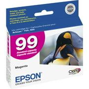 Epson, EPST099320S, Claria No. 99 Standard Capacity Magenta Ink Cartridge, 1 Each