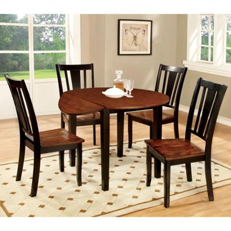Furniture Of America Betsy Jane 5 Piece Country Style Round Dining