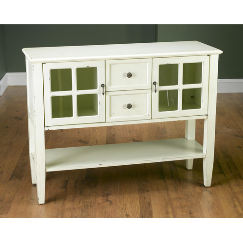 AA Importing 2 Door 2 Drawer Accent Cabinet by