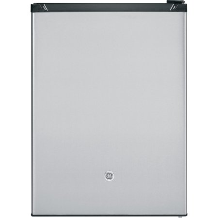 GE Appliances 5.6 Cu. Ft. Capacity Freestanding Compact Refrigerator, Silver