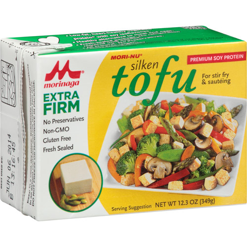 Mori-Nu Extra Firm Silken Tofu, 12.3 oz, (Pack of 12)