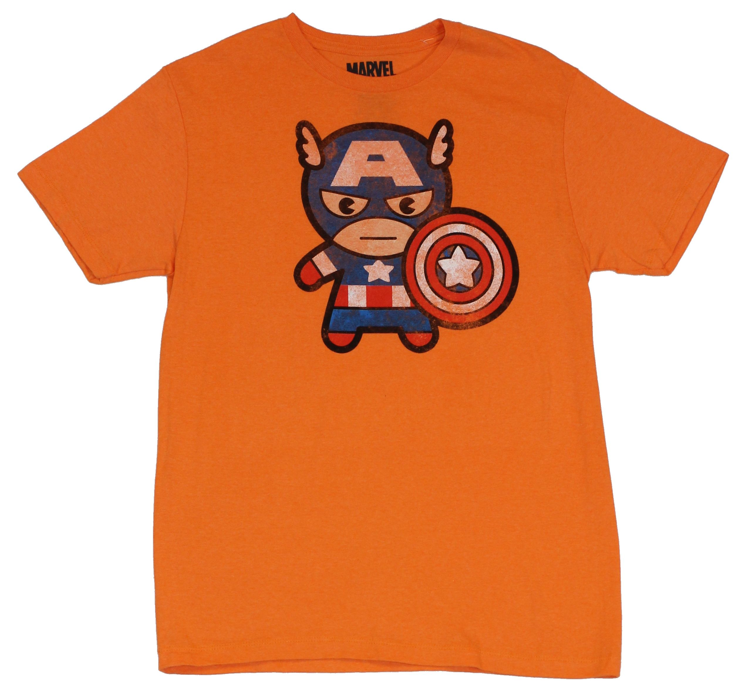 Officially Licensed Marvel Comics Marvel Distressed Characters Men/'s T-Shirt