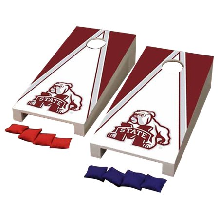 - Mississippi State Bulldogs Desktop Triangle Cornhole Game Set - No Size