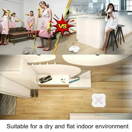Smart Home Robotic Vacuum Cleaner Dry Cordless Floor Dust Auto Sweeping Machine - image 2 of 12
