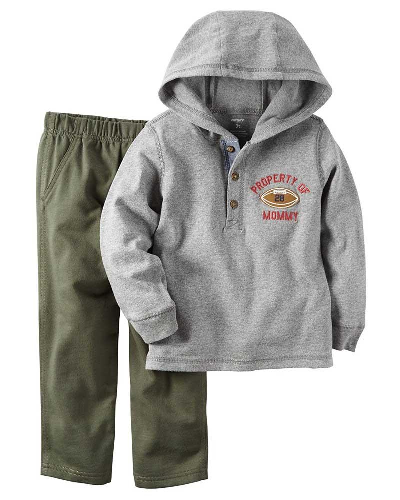 Carter's Boys Baby 2 Piece Playwear Pant Set