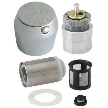 Chicago Faucets MVP Metering Retrofit Kit, (Metering Faucet)