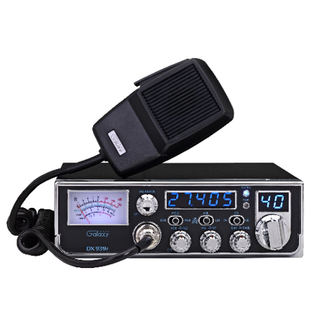 - Galaxy DX-939F CB Radio w/Illuminated Backlit Faceplate & Frequency Counter AM