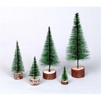 Green Village Tabletop Tree, 5 in.