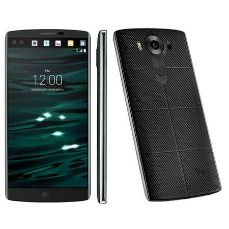 LG V10 H901 - 64GB - Space Black (T-Mobile) Smartphone Refurbished ()