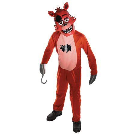 Rubies Five Nights at Freddy's Foxy Boys Halloween (5 Nights At Freddy's Costumes For Kids)