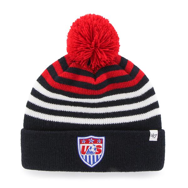 USA United States Soccer National Team 47 Brand YOUTH Yipes Beanie Hat Cap  - Walmart.com c77794f68e3c
