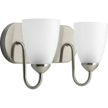 Gather Collection Two-Light Fluorescent Bath & Vanity