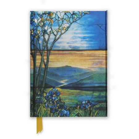 Tiffany Leaded Landscape with Magnolia Tree (Foiled (Lead Free Foil)