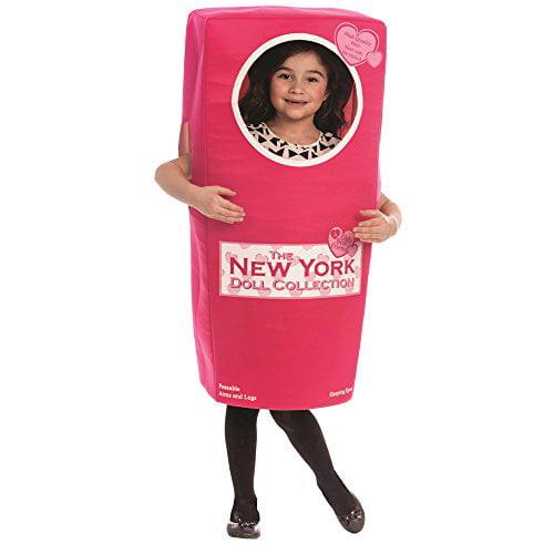 Dress Up America New York Doll Box Costume - L (12-14)