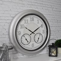 "FirsTime & Co.® 18"" Radiant LED Outdoor Clock"