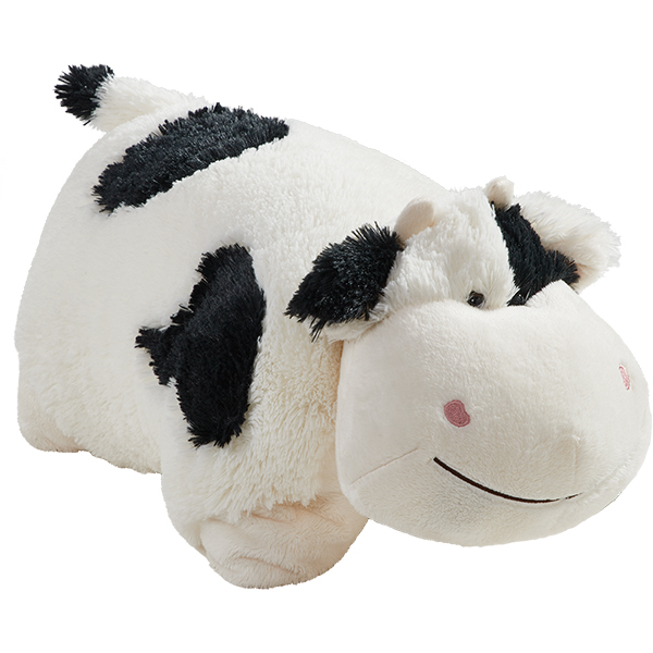 "Pillow Pets 18"" Signature Cozy Cow Stuffed Animal Plush Toy"