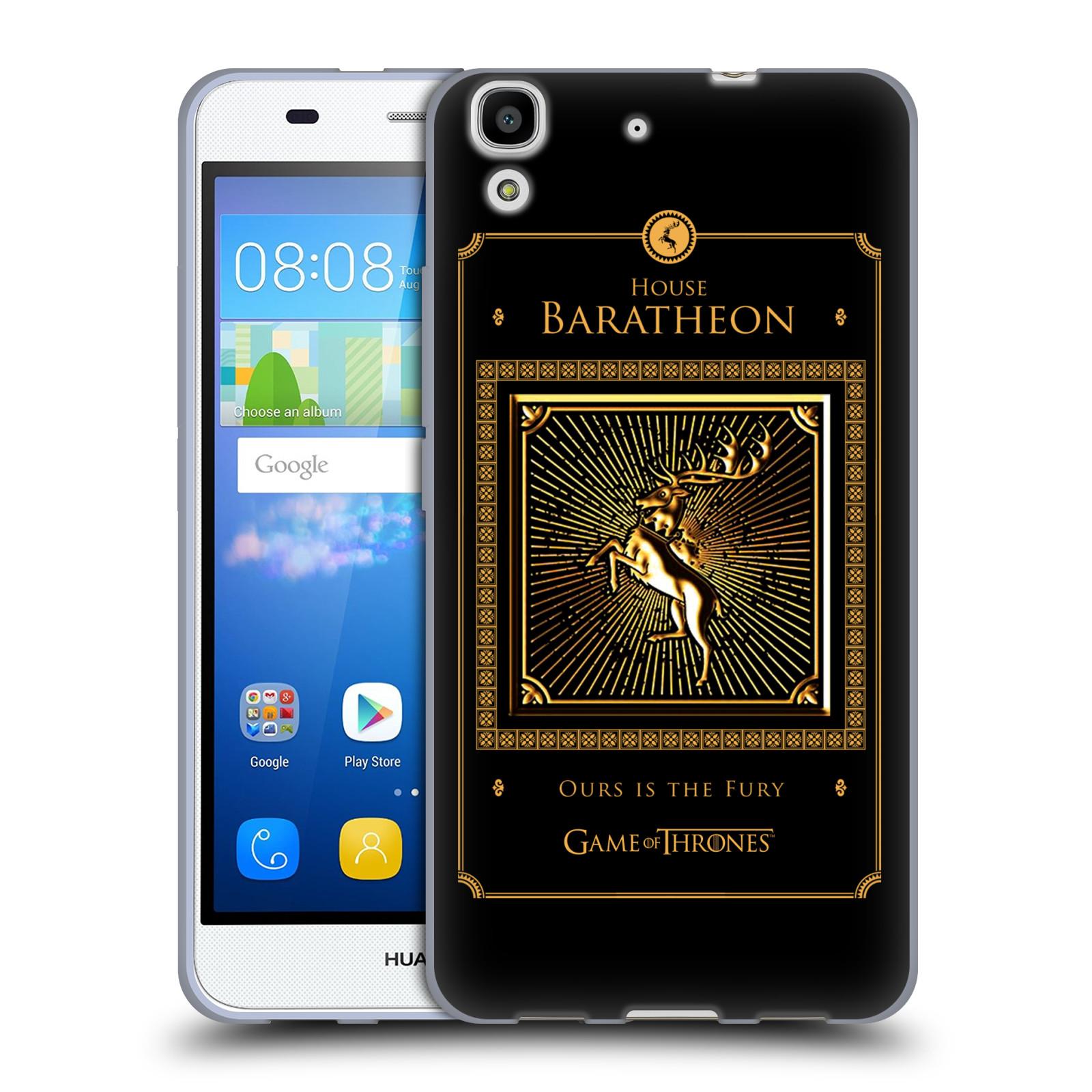 OFFICIAL HBO GAME OF THRONES GOLDEN SIGILS SOFT GEL CASE FOR HUAWEI PHONES 2