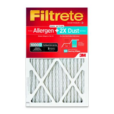 3m Company 4 Packs 16x20x1Fil Aller Filter