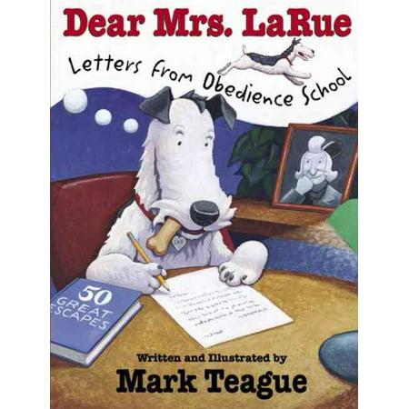 Dear Mrs  Larue