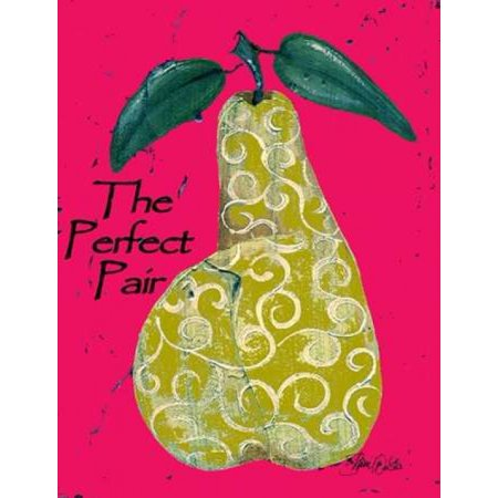 Perfect Pear Poster Print by Shanni Welsh