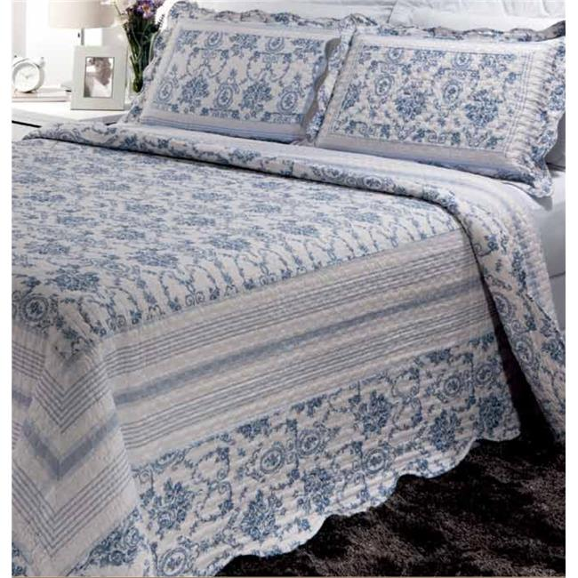 Bay Colony by Patch Magic QTFIOR 72 x 60 in. Finch Orchard Set, Super Twin & Standard Pillow Shams - 2 Piece - image 1 of 1