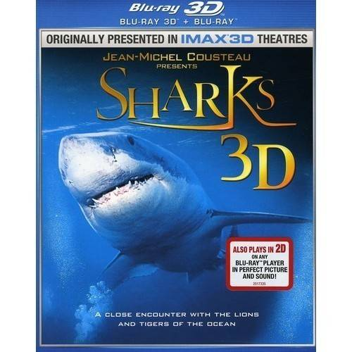 Sharks 3D (Blu-ray) (Widescreen)