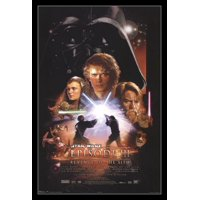 Star Wars - Episode III Laminated & Framed Poster Print (22 x 34)