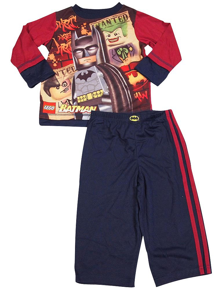 Batman - Little Boys Long Sleeve Batman Pajamas - Perfect PJ's for your Caped Crusader - 30 Day Guarantee - FREE SHIPPING