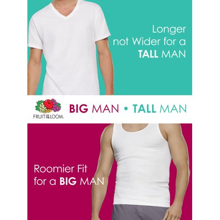 ade5c40ed51ce3 Fruit of the Loom Men s Big and Tall Collection - Walmart.com