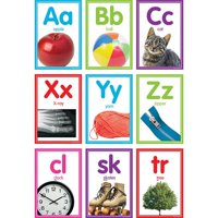 Teacher Created Resources TCR8798 5.75 x 8.5 in. Colorful Photo Alphabet Cards Bulletin Board Set