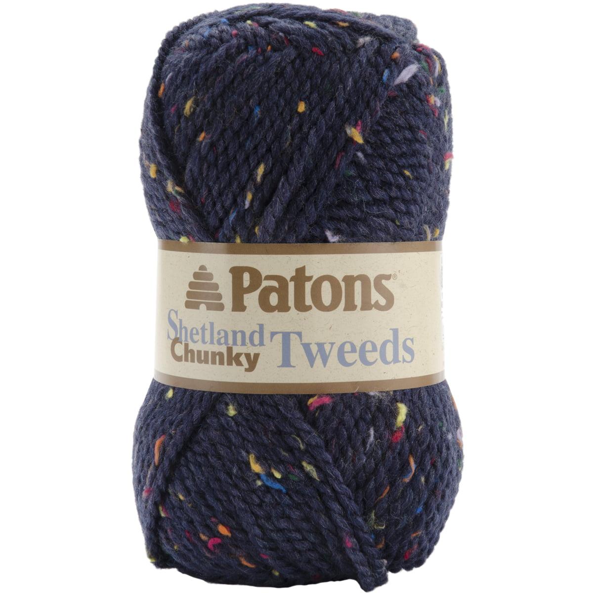 Shetland Chunky Yarn - Tweeds-Medium Blue