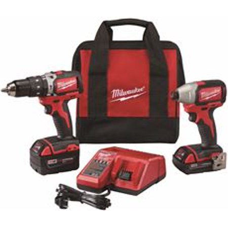 - Milwaukee Electric Tool 2799-22CX M18 Cordless Lithium-ion Compact Brushless Hammer Drill