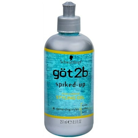 Got2b Spiked Up Styling Gel - got2b Spiked-Up Styling Gel Max-Control 8.50 oz