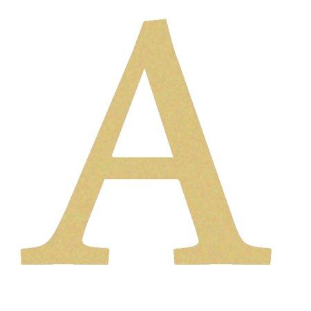 Greek Wooden Letters, Fraternity Wall Decor, 6'' Alpha Letter