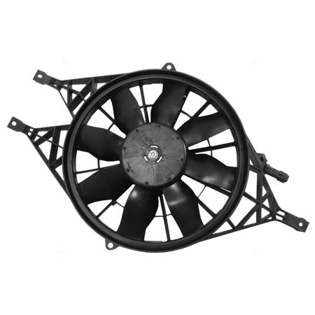 BROCK Radiator Cooling Fan Replacement for Dodge 00-04 Dakota Pickup Truck 00-01 Durango SUV 52030033AD