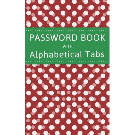 Cheap Accessories Website (Password Book with Alphabet Tabs: 5x8 Internet Website Address Book And Password Keeper Logbook)