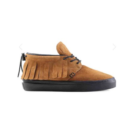 Clear Weather One-O-One Men Round Toe Suede Tan Sneakers CRW-101-HOB