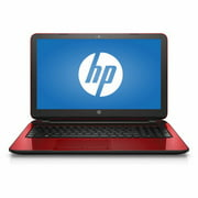 "Refurbished HP Flyer Red 15.6"" 15-f272wm Laptop PC with Intel Pentium N3540 Processor, 4GB Memory, 500GB Hard Drive and Windows 10 Home"