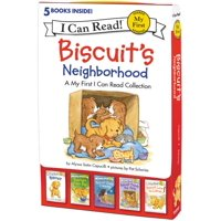 My First I Can Read: Biscuit's Neighborhood: 5 Fun-Filled Stories in 1 Box! (Paperback)
