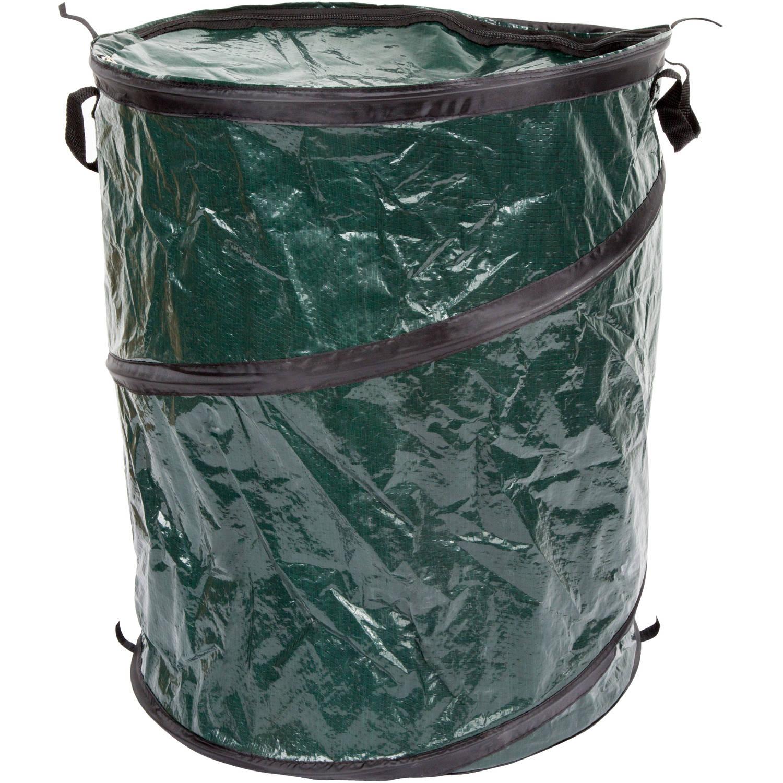 Wakeman Outdoors Pop-Up 33-Gal Camping Trash Bin