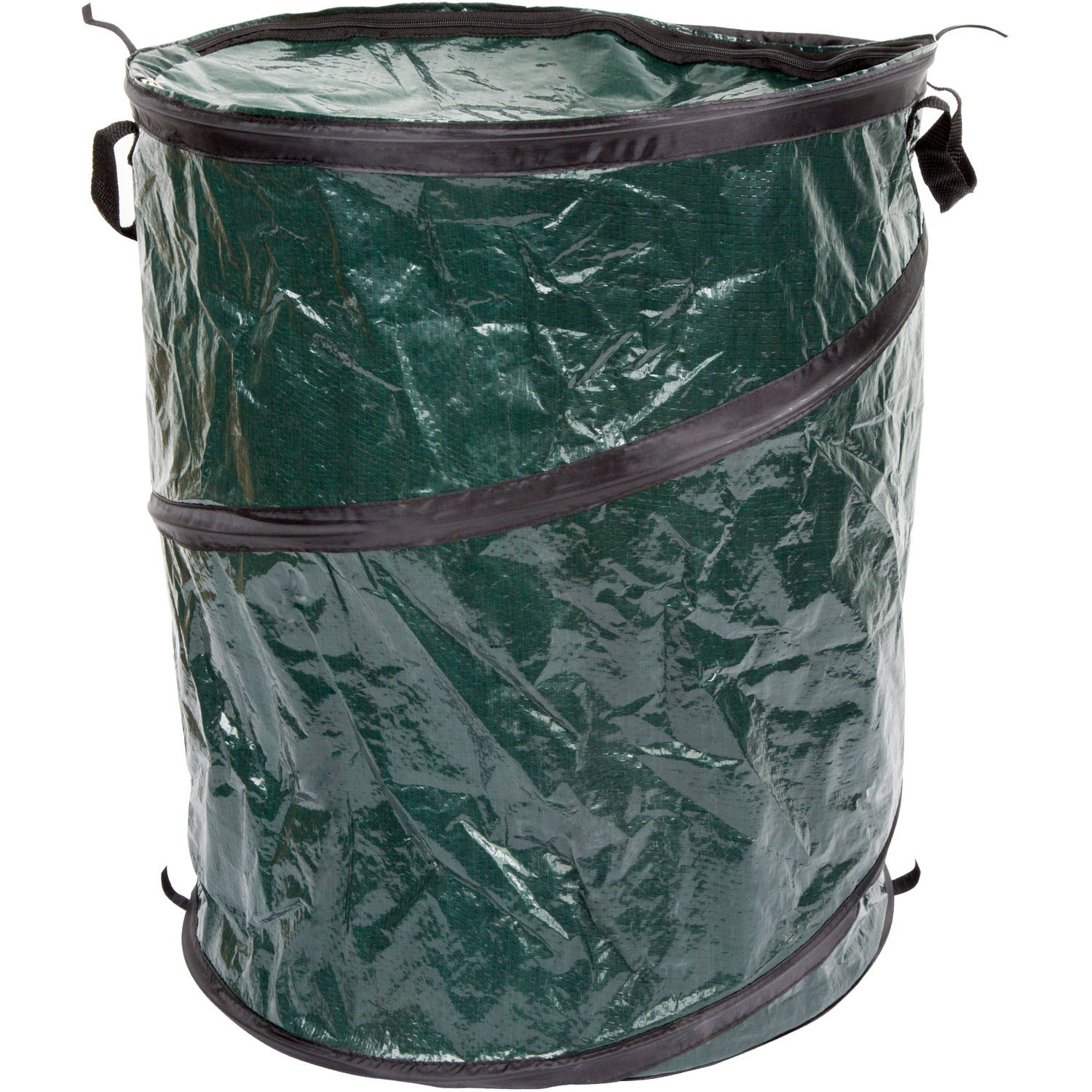 Wakeman Outdoors Pop-Up 33-Gal Camping Trash Bin