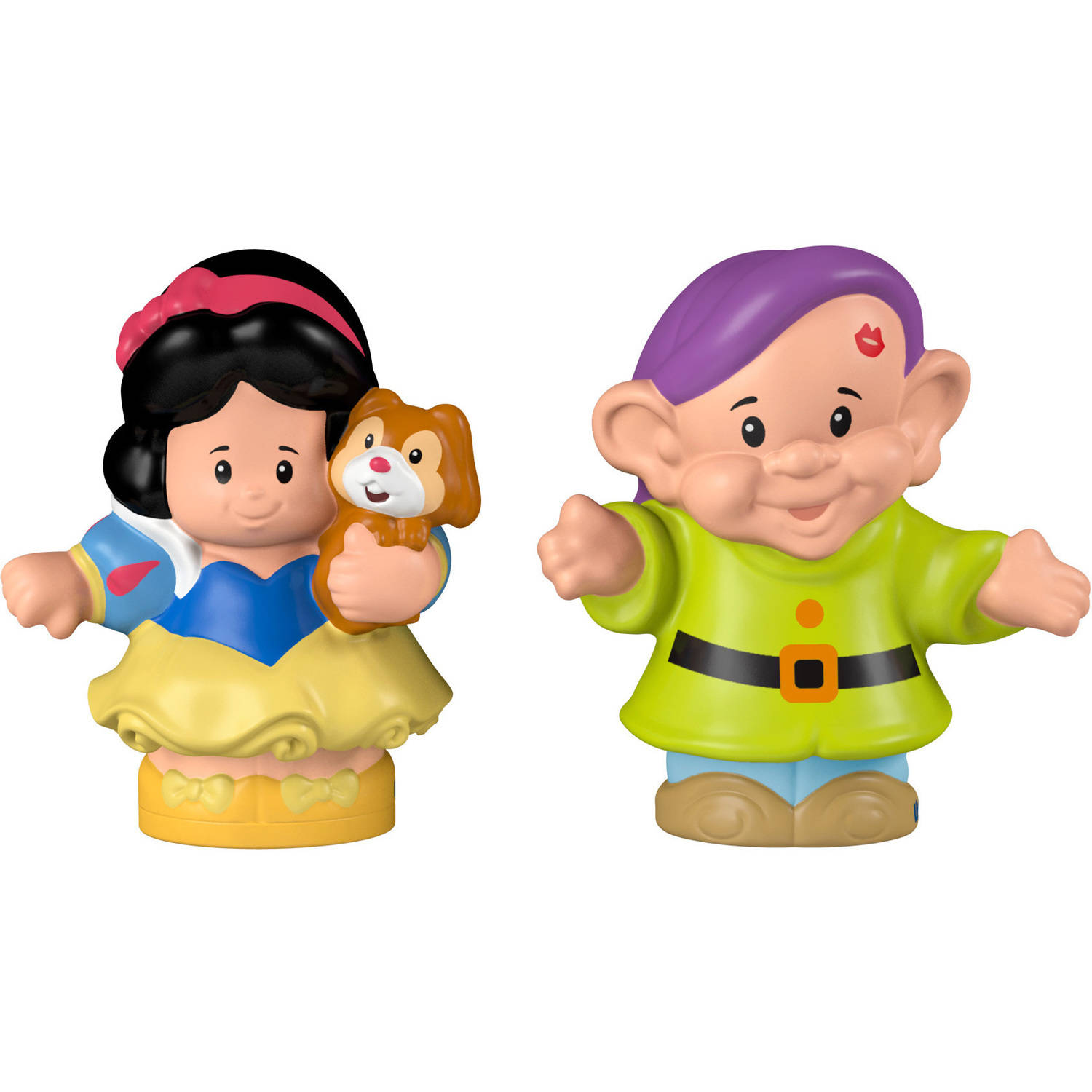 Fisher-Price Little People Disney Princess Snow White and Dopey Figures