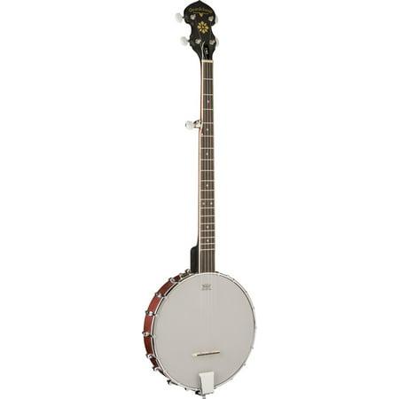 Oscar Schmidt 5-String Open Back Banjo, Maple Resonator, Remo Head, OB3