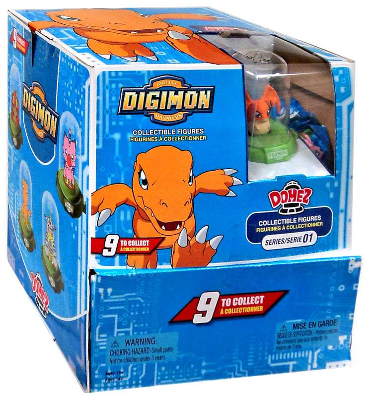 Domez Series 1 Digimon Mystery Box [24 packs] by