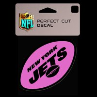 New York Jets WinCraft 4'' x 4'' Color Perfect Cut Decal