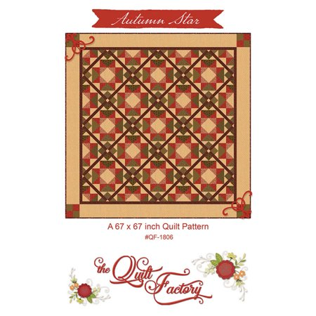 - Autumn Star Quilt Pattern by The Quilt Factory