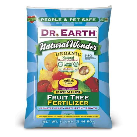 Organic Tree Fertilizer (Dr. Earth Natural & Organic Natural Wonder Fruit Tree Fertilizer, 12 lb)