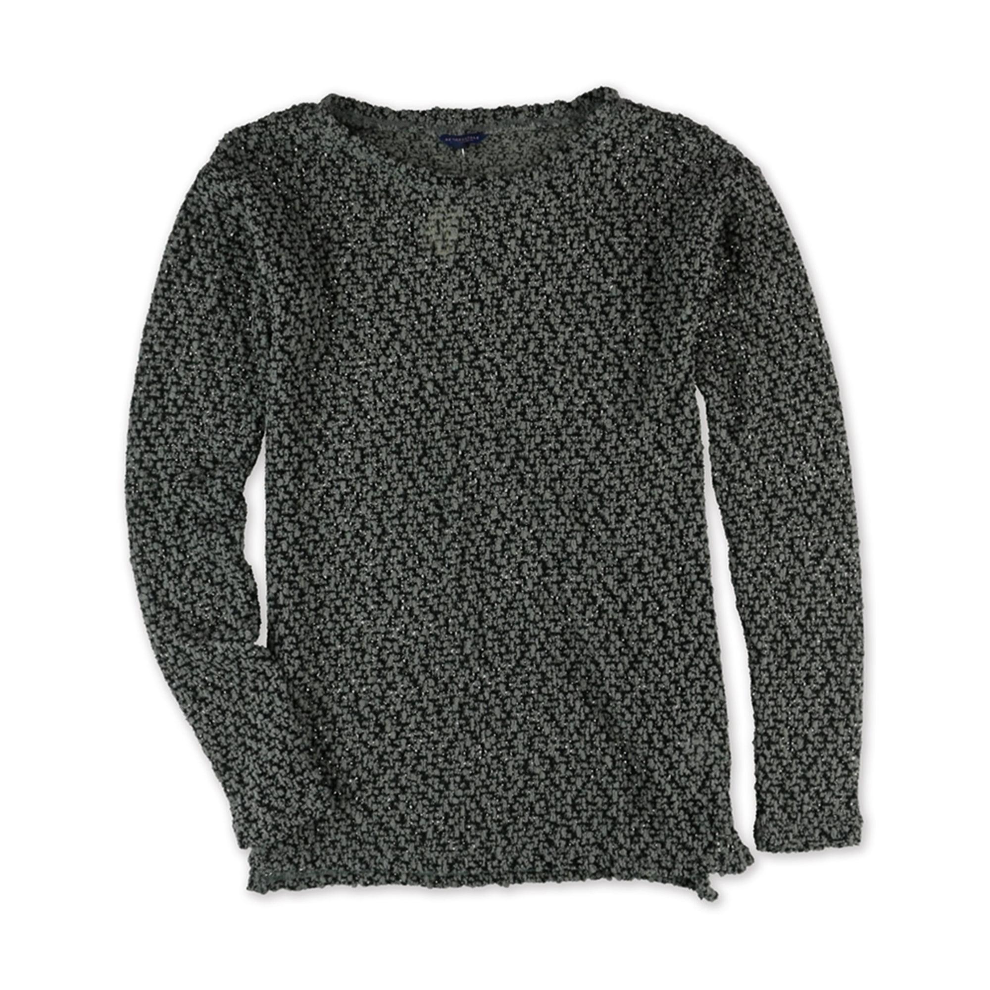 Aeropostale Womens Sheer Knit Sweater