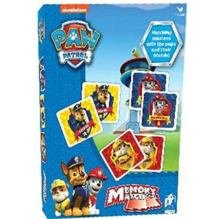 Paw Patrol Memory Match Game